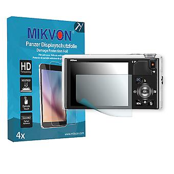 Nikon COOLPIX S9400 Screen Protector - Mikvon Armor Screen Protector (Retail Package with accessories)