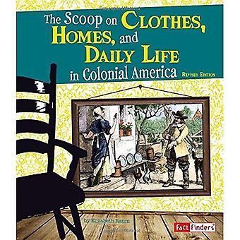 De senaste nyheterna om kläder, hem och vardag i kolonial Amerika (Life i de amerikanska kolonierna)