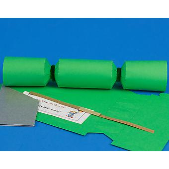Single MINI Emerald Green Make & Fill Your Own Cracker Making Craft Kit