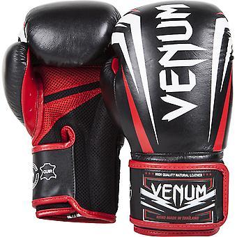 Venum Sharp Boxing Gloves - Black/White/Red