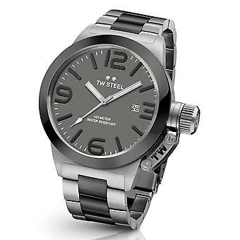Tw Steel Cb202 Canteen Bracelet Heren Horloge 50mm