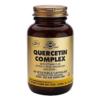 Solgar, Quercetin Complex Vegetable Capsules , 50