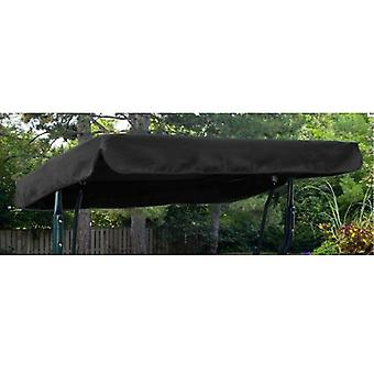Gardenista® Black Replacement Canopy for 3 Seater Argos Malibu Swing Seat