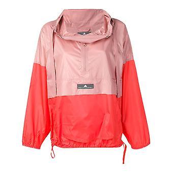 Adidas By Stella Mccartney Orange Nylon Outerwear Jacket