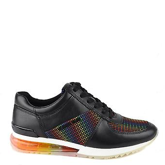 MICHAEL by Michael Kors Allie Extreme Black Multi Trainer
