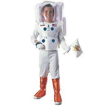 Costume astronaute NASA Spaceman espace costume blanc uniforme livre semaine garçons