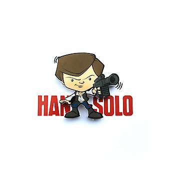 Star Wars Mini 3D LED Wall Light Han Solo