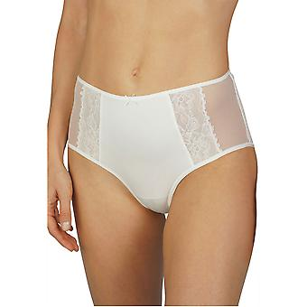 Mey Women 79049-5 Women's Fabulous Champagne Off-White Lace Full Panty Highwaist Brief