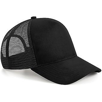 Beechfield - Suede Snapback Cap Hat Trucker Cap
