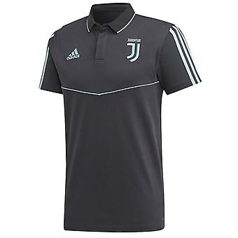 2019-2020 Juventus Adidas EU Polo Shirt (Dark Grey)