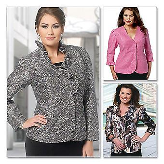 Misses' Women's Jacket  Miss Xsm  Sml  Med  Lrg  Xl Pattern B5720  Mis