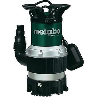 Clean water submersible pump Metabo 0251400000 14000 l/h 8.5 m
