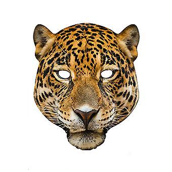 Leopard djur kort Party ansiktsmask
