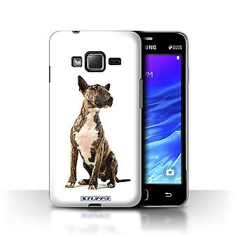 STUFF4 Case/Cover for Samsung Z1/Z130/Bull Terrier/Dog Breeds