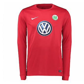 2016-2017 VFL Wolfsburg Home Nike Goalkeeper Shirt