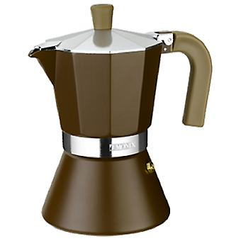 Monix Aluminum Coffee  Cream Induction  12 cups. suitable Induction