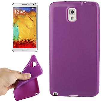 TPU case cover for Samsung Galaxy touch 3 / N9000 purple / violet