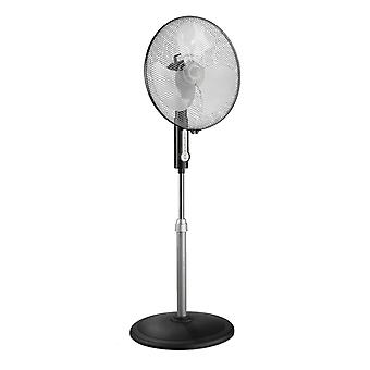 CasaFan pedestal fan Greyhound SV45-8 black with remote control