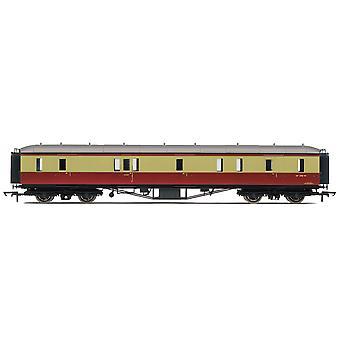 Hornby RailRoad BR Hawksworth gangpad passagier rem Coach - pre 1956
