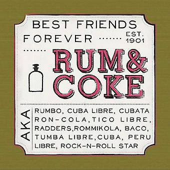 Rum and Coke Poster Print by Ashley Sta Teresa