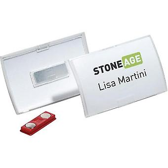 NAME PLATE CLICK FOLD+MAGNE T40X75MM/10X