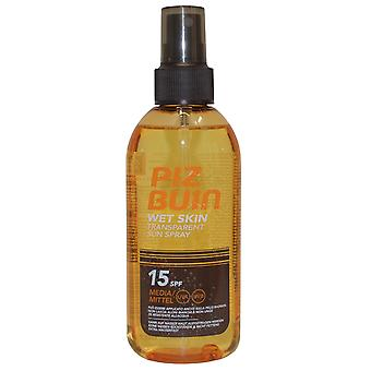 Piz Buin peau humide Transparent Sun Spray 150ml SPF15