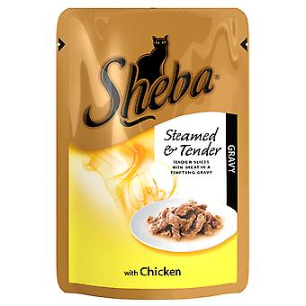 Sheba Pouch Chicken 85g (Pack of 12)
