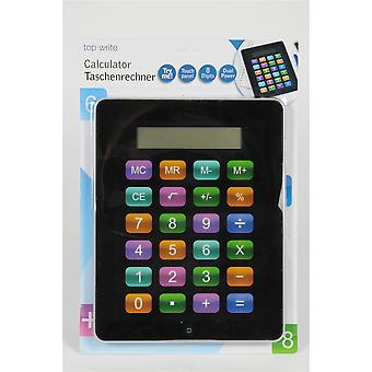 Calculator Touch Panel 8 Digits Dual Power Tablet Design