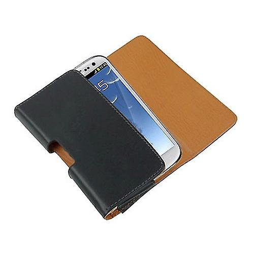 Cover wallet clip protective sleeve for Samsung Galaxy S3 i9300 black/beige