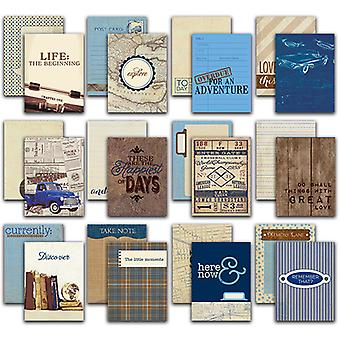 Rugged Authentic Life Cards 36/Pkg-3