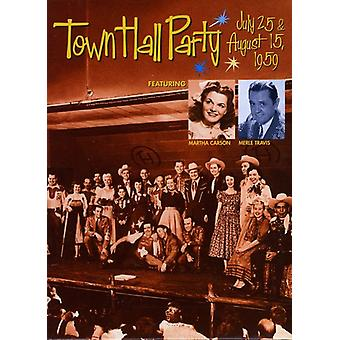 Rådhuset Party - Town Hall part-juli 25/Aug 15 195 [DVD] USA importerer