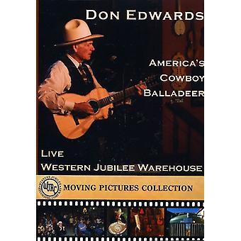 Don Edwards - Live på Western jubilæum Oplag 2009 [DVD] USA importen