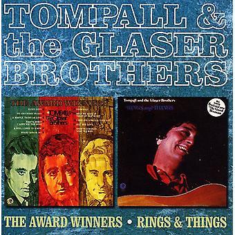 Tompall Glaser & Glaser brødre - Award vindere/ringe & ting [CD] USA importerer