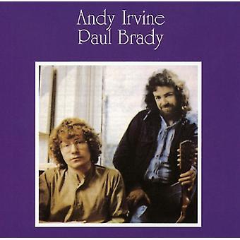 Irvine/Brady - Andy Irvine & Paul Brady [CD] USA import
