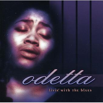 Odetta - Livin with the Blues [CD] USA import