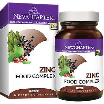 New Chapter Zinc Food Complex Tablets 60 Ct