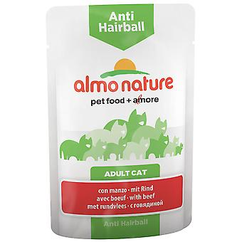Almo nature Anti-Haiball Bovine (Cats , Cat Food , Wet Food)