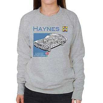 Haynes proprietários Workshop Manual 0295 MK2 Ford Cortina camisola mulher