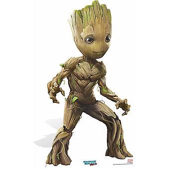 Baby Groot sød Pose vogtere af Galaxy Vol. 2 pap påklædningsdukke / Standee