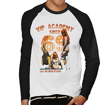 VIP-Academy sedan 69 sexiga tjejer mäns Baseball Långärmad T-Shirt