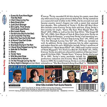 Twitty * Conway - 20 bedste af skal Have Hits [CD] USA import