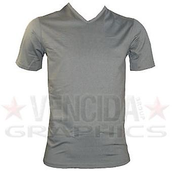 CCC coolers v-neck short sleeve tee shirt [charcoal]
