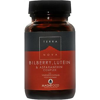 Terranova Bilberry, Lutein and Astaxanthin Complex Capsules