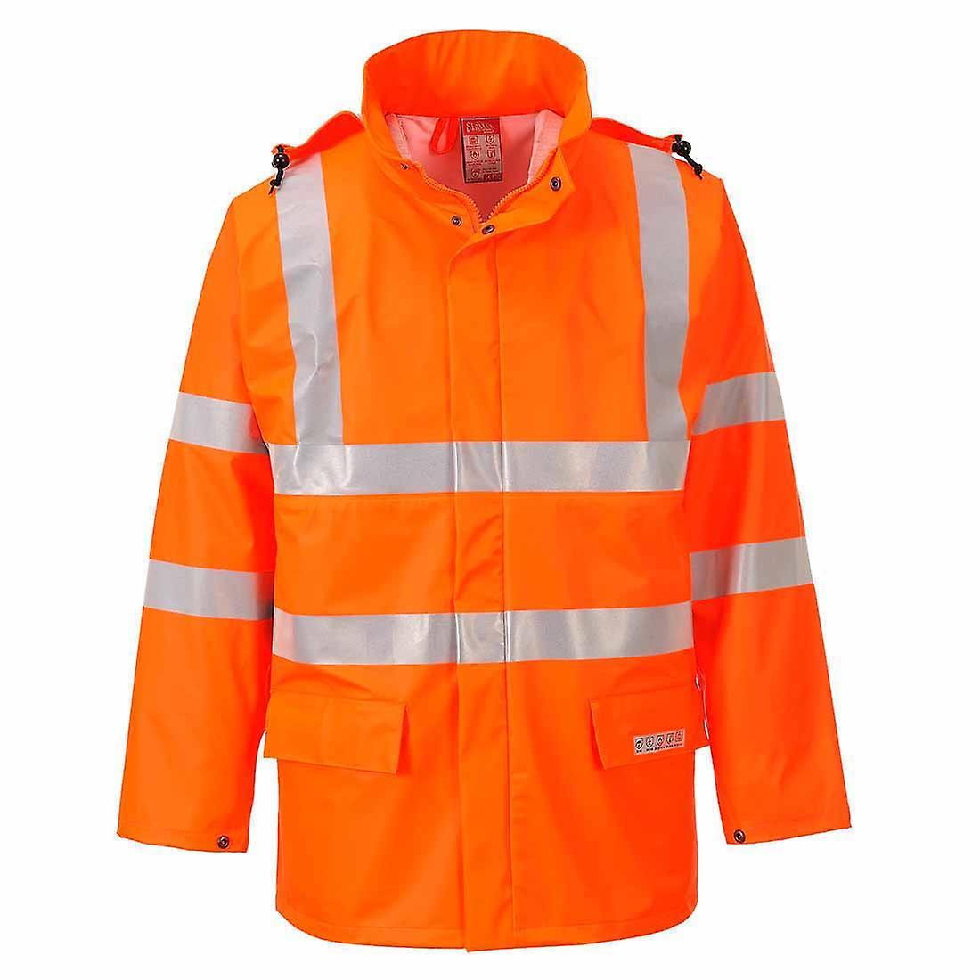 SUw - Sealtex Flame Resistant Safety vêtehommests de travail Hi-Vis imperméable veste