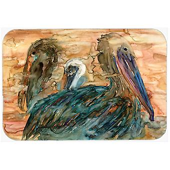 Carolines Treasures  8977CMT Abstract Pelicans Kitchen or Bath Mat 20x30