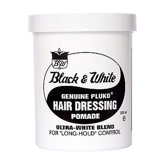 Black and White Wax Aito Pluko Pomade 200ml