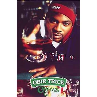 Obie Trice - Cheers Poster Poster Print