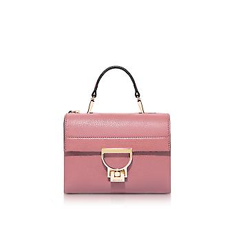 Coccinelle women's E1BD555B701093 pink leather handbags