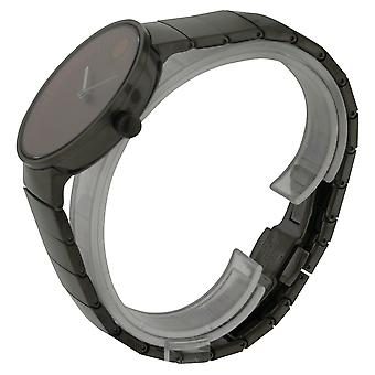 Movado Edge Grey Stainless Steel Mens Watch 3680023
