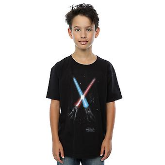 Star Wars Boys Crossed Lightsabres T-Shirt